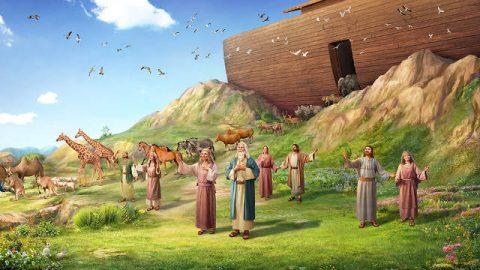 La historia de Noé: Noé y el arca