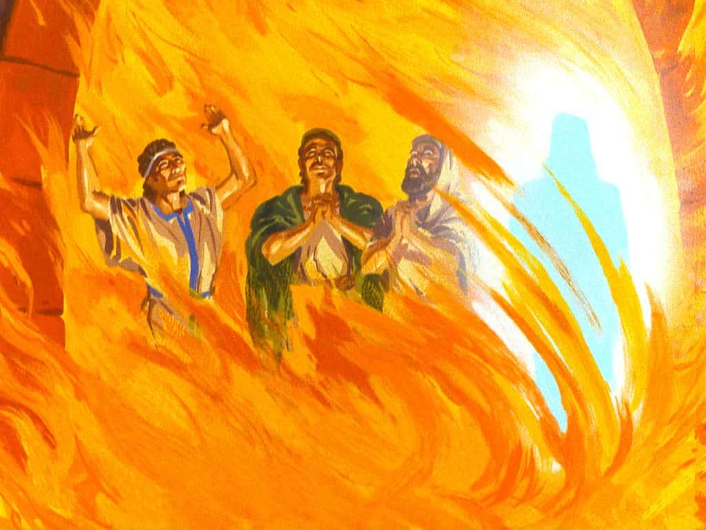 Sadrac, Mesac y Abed-nego en el horno de fuego - Conocer la autoridad de Dios