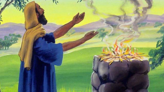 La vida diaria del Job en la Biblia y el primer ataque de Satanás