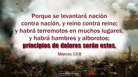 Profecías Bíblicas - los desastres de los últimos días