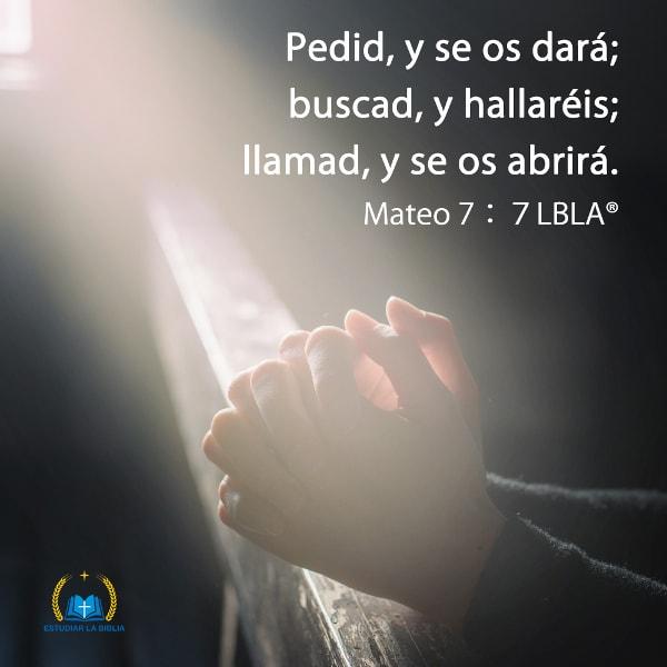 Estudiar la Biblia,Mateo,orar,Evangelio de Hoy,versiculo de la Biblia