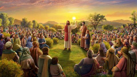 Jesucristo realizó el milagro de los cinco panes y dos pescados