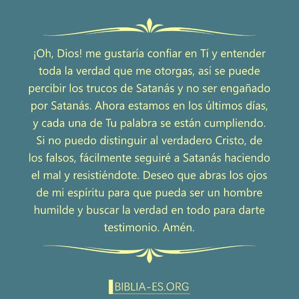 Oración A Dios Ser Un Hombre Humilde Y Buscar La Verdad
