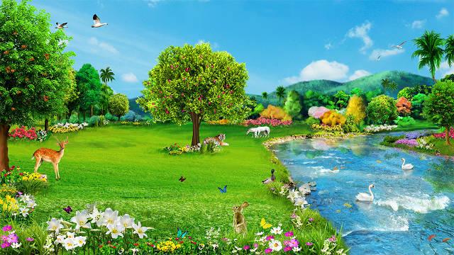 La creación de Dios,Bajo la autoridad del Creador, todas las cosas son perfectas