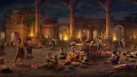 Después de la resistencia y la hostilidad repetidas de Sodoma hacia Él, Dios la erradica totalmente