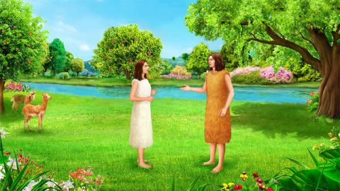 Dios crea a Eva