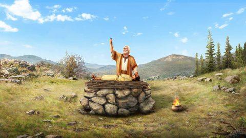 Dios le pidió a Abraham que sacrificara a Isaac