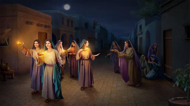 las Vírgenes Prudentes,la segunda venida de Cristo,predicas cristianas