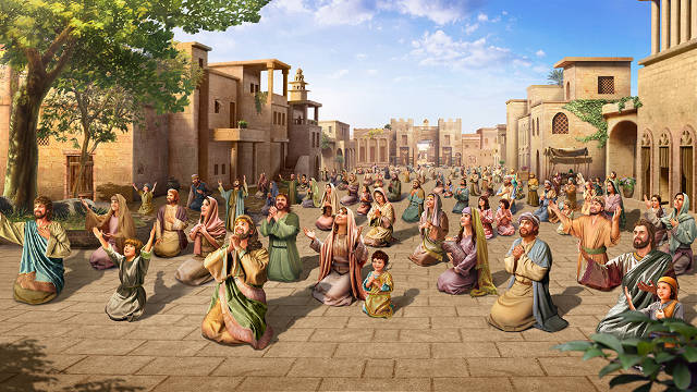 El arrepentimiento de los ninivitas,historias de la Biblia