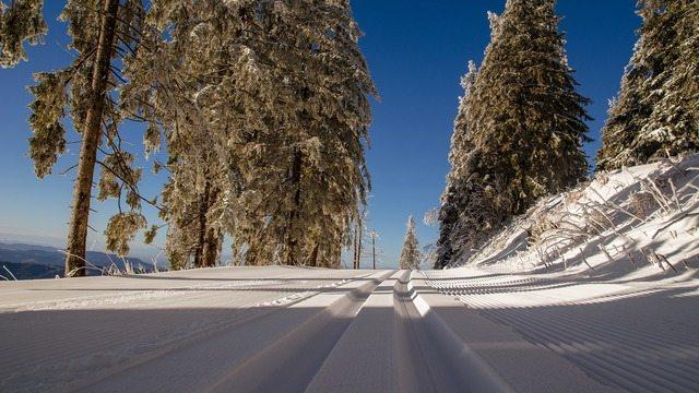 Invierno nieve carretera