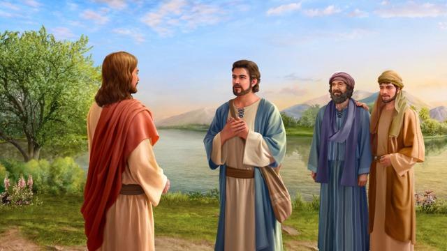 Pedro reconoce que Jesús es Cristo