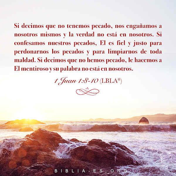 1 Juan 1:8-10