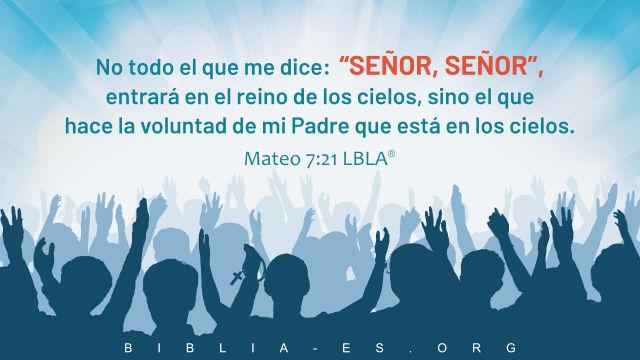 mateo7:21