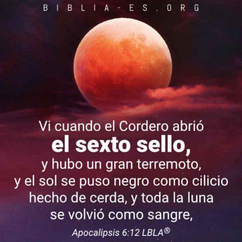 la luna de sangre en la biblia