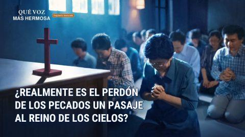 """Fragmento 4 de película evangélico """"Qué voz más hermosa"""": ¿Realmente es el perdón de los pecados un pasaje al reino de los cielos? (Español Latino)"""